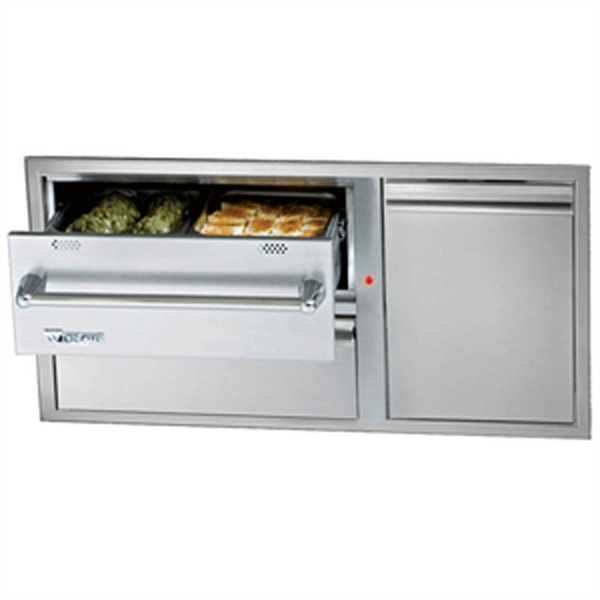 Outdoor Kitchen Vancouver: Twin Eagles 42 Inch Warming Drawer Combo : Outdoor Storage