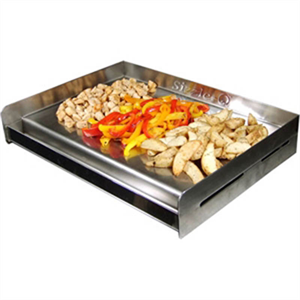 Sizzle-Q Stainless Steel BBQ Griddle