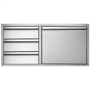 Twin Eagles 36 Inch 3-Drawer-Door Comb...