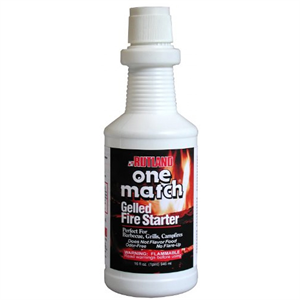 One Match Gelled Fire Starter - 16oz