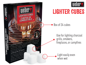Weber Firestarters Lighter Cubes