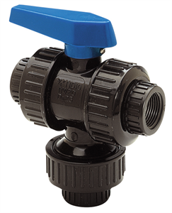 "3/4"" True Union Multi-Port Ball Valve"
