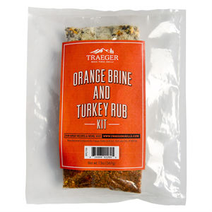 Traeger Orange Brine and Turkey Rub Ki...