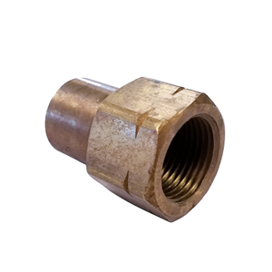 "Female POL x Female 1/4"" NPT - Brass A..."