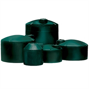 305 gallon vertical water tank green