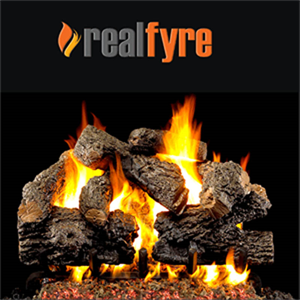 "Peterson Real Fyre 24"" Charred Royal E..."