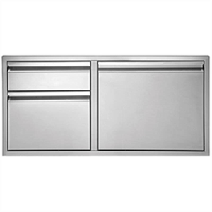 Twin Eagles 30 Inch 2-Drawer-Door Comb...