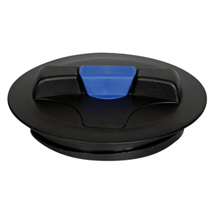 "8"" Lid with blue snap-in vent"