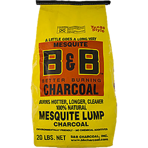 B&B Natural Lump Charcoal Mesquite