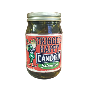 Trigger Happy Candied Jalapenos