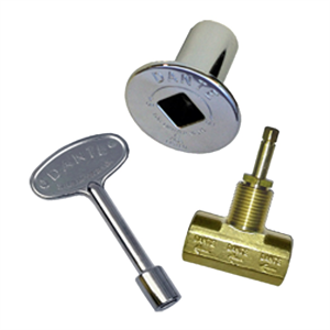 Dante Gas Valve Combo Pack Polished Ch...