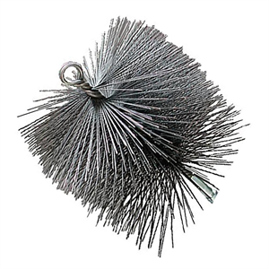 "Chimney Sweep 12"" Square Wire Brush"