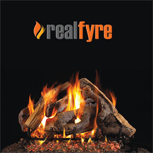 "Peterson Real Fyre 24"" Woodstack Oak G..."