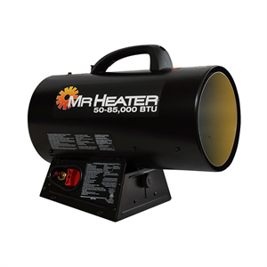 85,000 BTU Forced Air Propane Heater