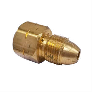 "Male POL x Female 1/2"" NPT - Brass Ada..."