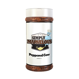 Simply Marvelous BBQ Rub Peppered Cow