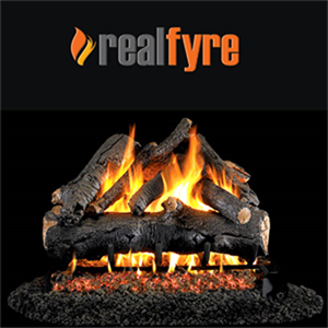 "Peterson Real Fyre 24"" American Oak Ga..."