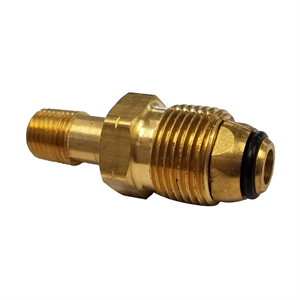 "Soft Nose POL X Male 1/4"" NPT - Brass"