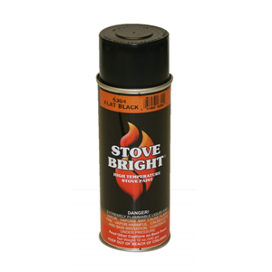 Stove Bright Stove Paint - Flat Black